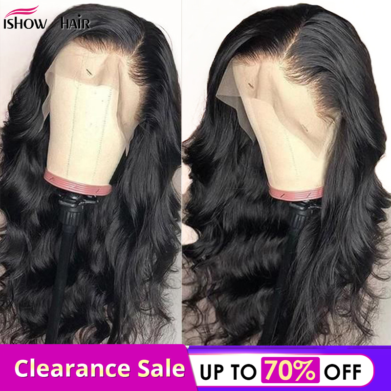 Malaysian Body Wave 13x4 Lace Front Wigs Pre Plucked With Baby Hair 4x4 Lace Closure Wig Remy Human Hair Lace Front Wigs