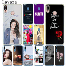Lavaza Lee Sun Mi Sunmi kpop Phone Case for Huawei Y9 Y7 Prime 2018 2019 Honor 20 8A