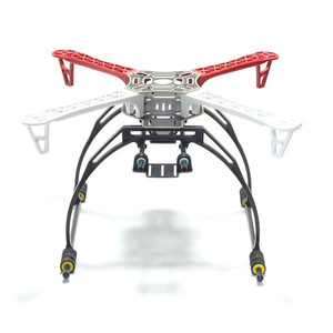 Image 3 - High Landing Gear Landing Skid with Gimbal Battery Plate Adapter for F450 F550 SK550 SK450 FPV RC Quadcopter Hexacopter Frame