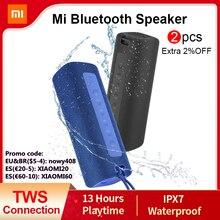 Xiaomi Mi Portable Bluetooth Speaker Outdoor 16W TWS Connection High Quality Sound IPX7 Waterproof 13 hours playtime Mi Speaker