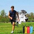 Скоростная тренировка бег лобовое парашютное оборудование для футбольных тренировок фитнес оборудование для скоростного лобового фрикци...