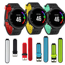 Repuesto de correa de silicona para relojes Garmin Forerunner 235 630 230 735, accesorios para relojes pulsera inteligente