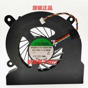 Ventilador de refrigeración de CPU para Acer Aspire todo en uno 5600U 7600u A5600U-UB308 MGB0121V1-C000-S99 refrigerador de 4 pines 12V 6,08 W