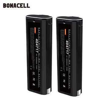 6V 4000mAh NI-MH bateria zastępcza dla Paslode 404717 B20544E BCPAS-404717 404400 900400 900420 900600 akumulatora L70 tanie i dobre opinie bonacell Baterie Tylko For Paslode 404717 902000 B20720 CF-325 IM200 F18 IM250 IM250A Efficient Fast Safe+Track Number
