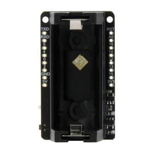 Image 3 - LILYGO®TTGO T OI ESP8266 שבב נטענת 16340 סוללה מחזיק תואם עם מיני D1 פיתוח לוח