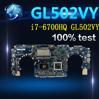 Amazoon i7-6700HQ GL502VY Motherboard GTX980M/4GB  For ASUS GL502 GL502V GL502VY  Laptop  Mainboard Motherboard test 100% OK