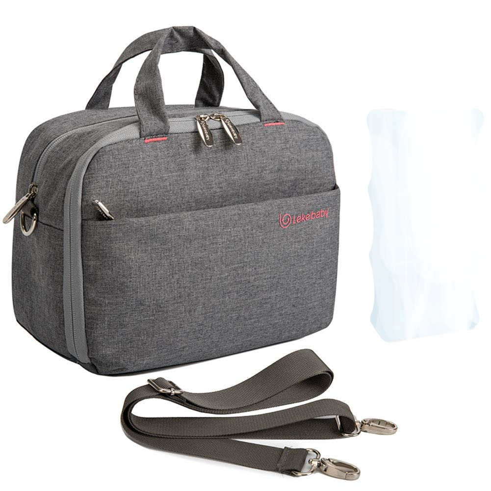 New Style Insulated Bag Bento Box Bag Mommy Insulated Bag Lunch Bag Hand Thermal Bag Ice Pack Double Layer
