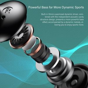 Image 3 - DACOM L03X Bluetooth Earphone Neckband Sports Wireless Headphone Mini Headset, Lightweight, 6 Hours Playback, for iPhone Samsung