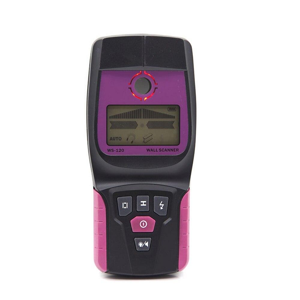 Détecteur de métaux trouver détecteur de compteur de métaux trouver détecteur de Scanner mural métal bois câble fil détecteur de goujon Scanner LED bip GR