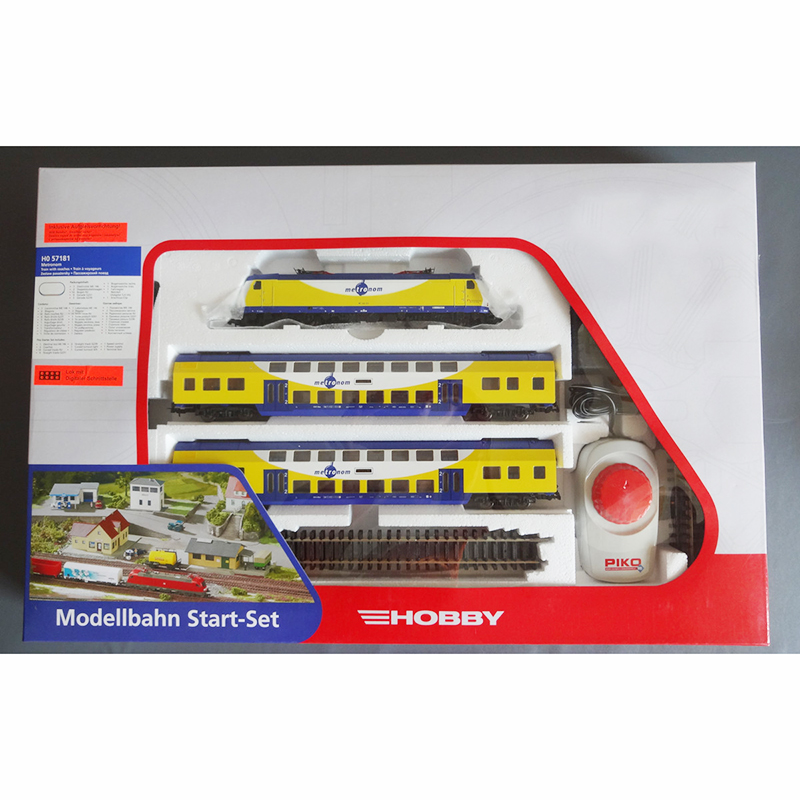 HO 1:87 Junior Train Model Set Track Controller With Electric Front Car 57181 For Birthday Gift