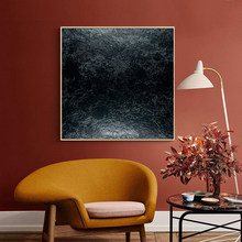 Abstracto preto arte da parede moderna pintura da lona cartazes e cópias preto quadros de parede para sala estar decoração casa