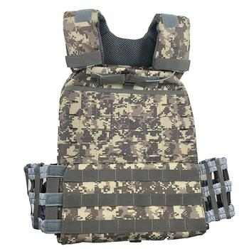 Tactical Vest Body Armor Plate Carrierr Molle Vest ACU Adjustable Combat Vest Molle Plate Carrierr Vest CS Protective Vest Gear фото
