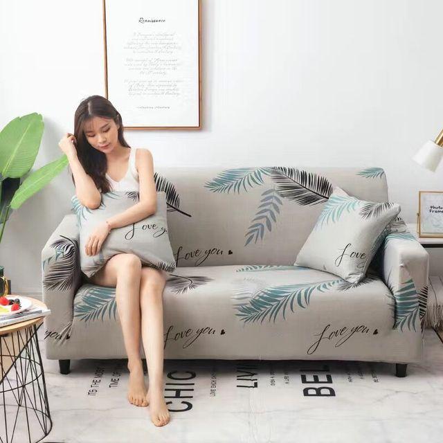 пасторальные листья чехлы для диванов эластичные чехлы из спандекса фотография
