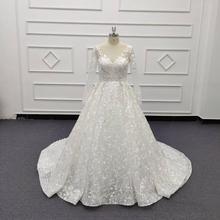 Vestido de casamento feito sob encomenda do vestido de baile 2020