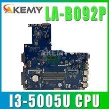 Материнская плата SAMXINNO ZIWB2 / ZIWB3 / ZIWE1 LA-B092P Rev: 3.0 для материнской платы ноутбука Lenovo B40-80 (для процессора Intel I3-5005U) 100% тестирование