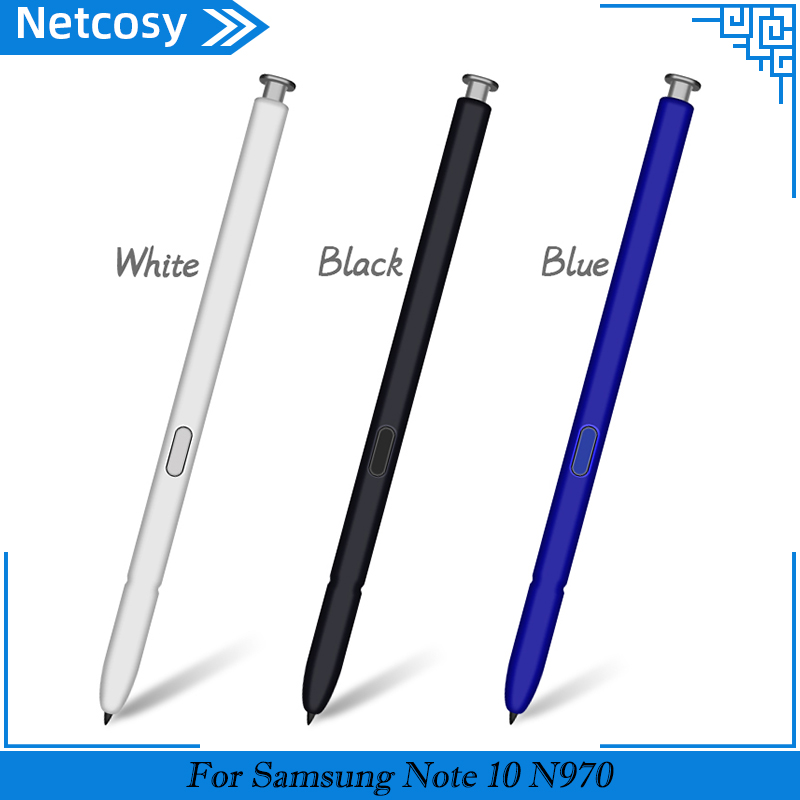 Smart Pressure S Pen Stylus Capacitive For Samsung Galaxy Note 10 N970 10+ N975 Active Stylus Pen Mobile Phone S-Pen