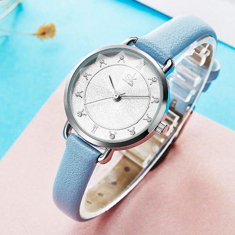 PANARS Reloj Mujer Women Quartz Watches Luxury Waterproof Leather Strap Wrist Watch 5 Colors Clock Ladies Gifts Kol Saati Kadin