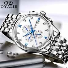 Мужские автоматические механические наручные часы роскошные