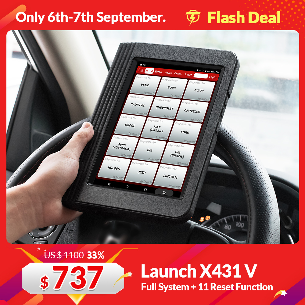 Launch X431 V 8inch Car Diagnostic Tool Support WiFi/Bluetooth 2 Year Update Free 100% Original Launch X 431 V PK PROS Mini Tool