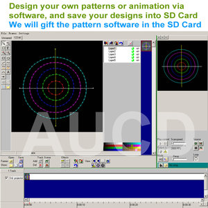 Image 3 - Karta SD DMX kolor RGB edytowalna animacja ILD muzyka projektor laserowy światła stroboskopowe dyskoteka DJ Club Stage kolor oświetlenie muzyczne
