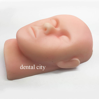 Silicone head model skin suture facial model minimally invasive cosmetic practice model