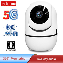 1080P Wireless Mini IP Camera Baby Monitor CCTV Indoor Two Way Audio 5G WiFi Security Tuya Auto Tracking Mobile Remote Access