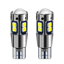 2 sztuk T10 W5W żarówki LED samochodów wewnętrzna lampka lampa parkingowa dla mazda 2 3 5 6 cx5 cx7 mx5 dla suzuki sx4 jimny swift dla saab 93 95 tanie tanio Klirens lights 600lm T10 (W5W 194) 12 v Ciemny szary about 5g Uniwersalny W 5W
