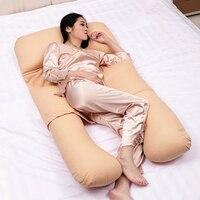 Body Pillows For Pregnant Woman Sleeping Belly Contoured Pregnancy Pillow Maternity U Breastfeeding Nursing Pillow, 150*80*20cm