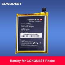 Bateria original do telefone móvel da conquista para a substituição do li-íon da conquista s6/s8/s11/s12pro/f2 baterias internas para o telefone da conquista