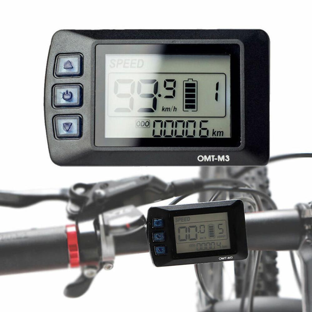EBIKE KD21C LCD DISPLAY METER PANEL FOR MID DRIVE EBIKE KIT 36V 48V