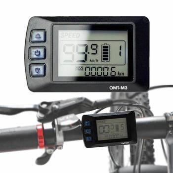 EBike Controller 36V 48V LCD E Bike Display Speed Controller For Electric Bicycle Control Panel Kits
