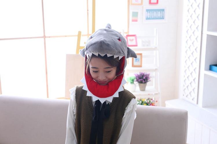 Kawaii японский взрослая плюшевая шляпа головной убор Декор