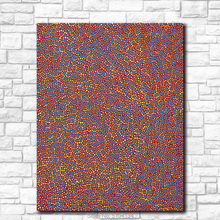 Paint Oil Painting Wall painting YAYOI KUSAMA The Thames in the Morning Home Decor Wall Art Picture For Living Room painting the morning room свитер