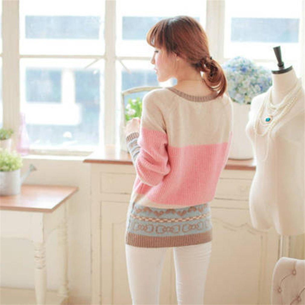 Fashion Women Autumn Winter Warm Knitted Pullover Sweater Knitwear Tops LN