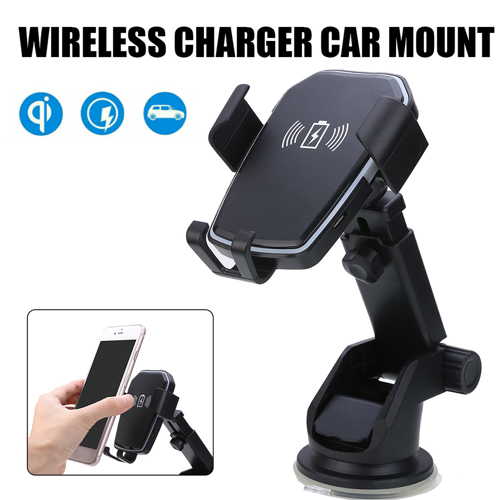 Wireless Car-Charger Note-10 Fast-Phone Samsung For 8 Qi Gravity 5W/10W 9