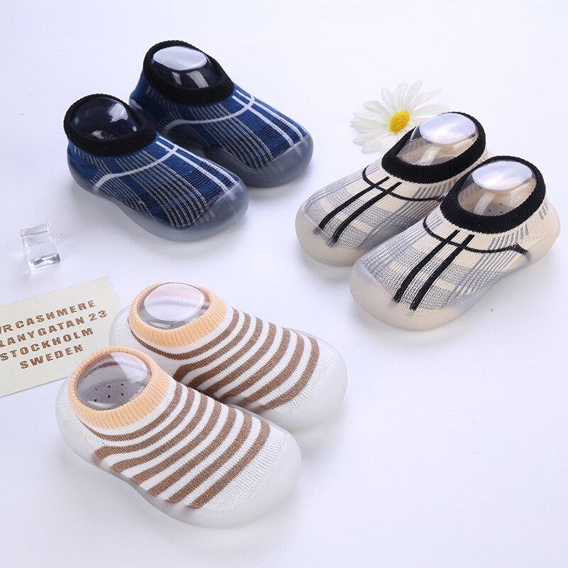 Baby Socks Newborn Girls Boy Kids Antiskid Child Sock Shoes For Children Grip Ankle Rubber Kid Girl Babies Toddler Boys Slipper 3