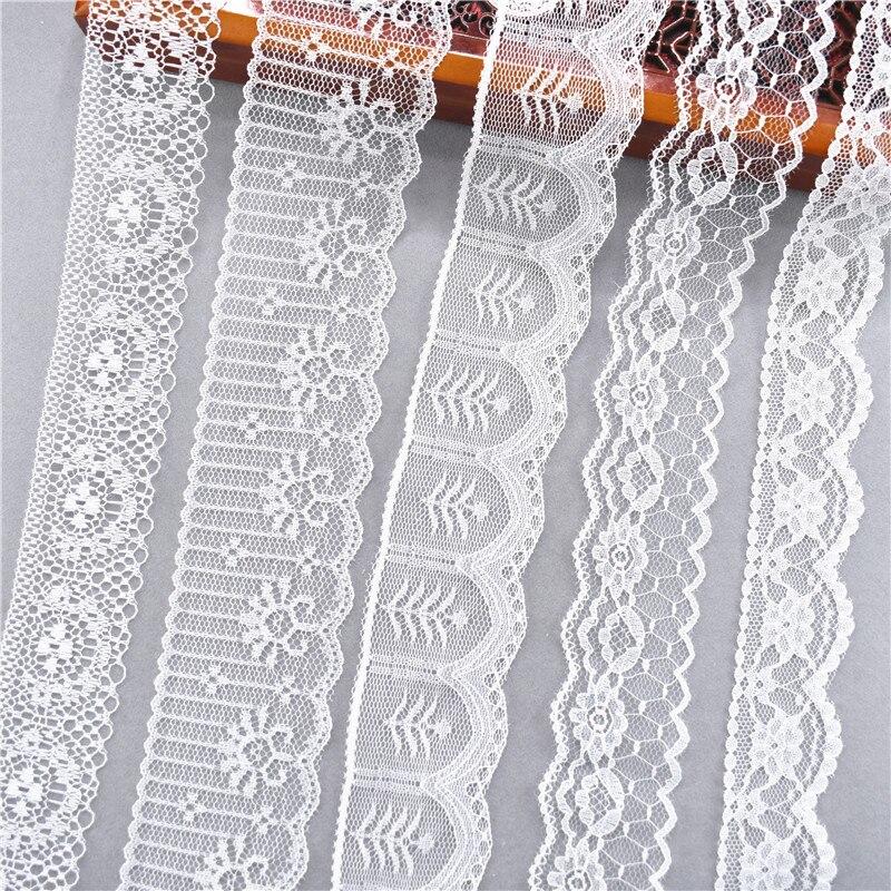 2020 Лидер продаж 10 метров 38 видов белого цвета в африканском стиле кружево тканевые ленты для Рукоделие