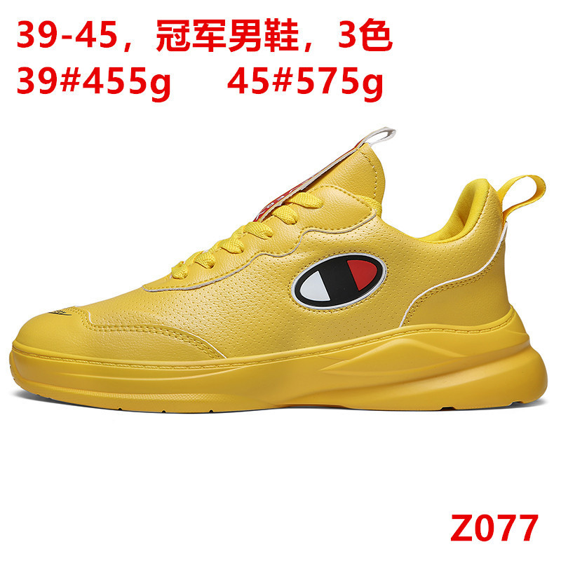 Online Celebrity Shoe Men's Super Fire Men's Fashion Korean-style Breathable Versatile Popular Brand Champion Shoes MEN'S SHOES