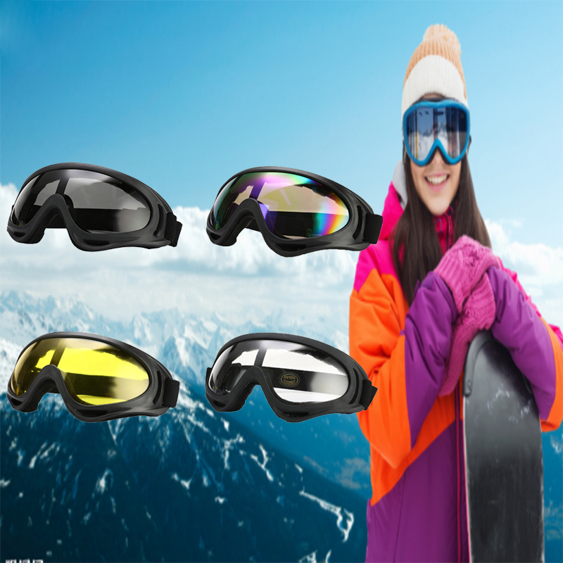 UV Protection Outdoor Skis Goggles Windproof Ski Glasses Protective Glasses Glasses Dustproof Riding Safety Sports Accessories