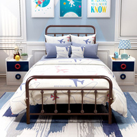 DUMEE Metal Bed Frame Square Single&Double&Queen Size Home Furniture Bedroom Modern Iron Muebles De Dormitorio > 2000mm