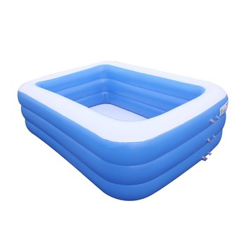 Kids inflatable Pool Children's Home Use Paddling Pool Large Inflatable Square Swimming Pool for baby