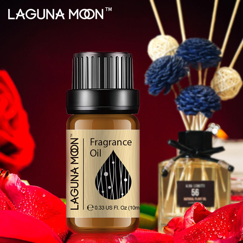 Lagunamoon Lemon&Lime 10ml Fragrance Oil Passion Fruit Pineapple Gitrus Fruit Coconut Rose Essential Oil Aromatherapy Diffuser