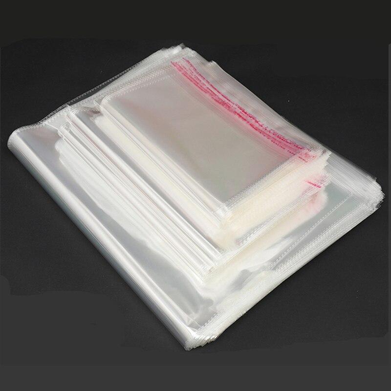 Полезные самоклеящиеся фотообои 100 шт, самозапечатывающиеся маленькие пластиковые пакеты для конфет, конфет, печенья