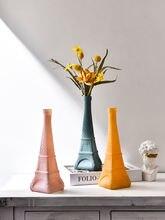 Креативная стеклянная ваза с башней для украшения дома рабочего