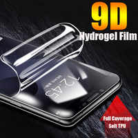 For LG G5 G7 G8 ThinQ Soft TPU Front Full Cover Screen Protector Clear Protective Hydrogel Film For LG Q6 Q7 Plus V50 V40 V30