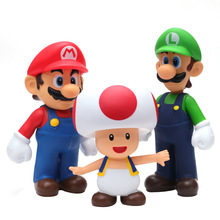 Super Mario Toys Mario bros Luigi Odyssey Figures Mario Bros Action Figures Mario PVC Toy Figures Super Mario Anime Figure Model
