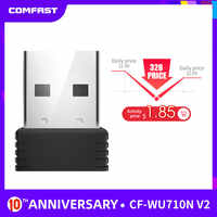Mini USB Wifi Adattatore 802.11b/g/n Antenna 150Mbps USB Wireless Ricevitore Dongle MT7601 Scheda di Rete Del Computer Portatile TV BOX Wi-Fi Dongle
