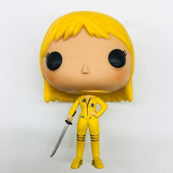 Original Class Movie Kill Bill - The Bride Beatrix Kiddo Collectible Vinyl Figure Model Toy NO box Collection