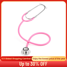 Professional Dual Head Stethoscope Doctor Nurse Double Head Stethoscope Cardiology Medical Equipment Student Vet Medical Device