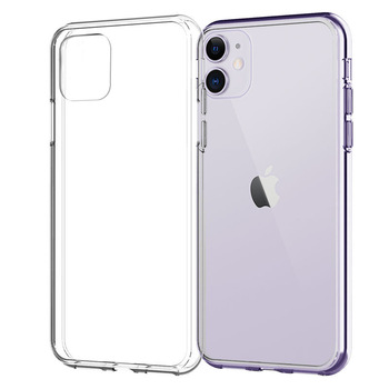 Silicone Case For iPhone 11 Pro X XR XS Max 4 5 6 7 8 Plus Cover Transparent Cases For iPhone SE 2020 11 XR Shockproof Case Soft